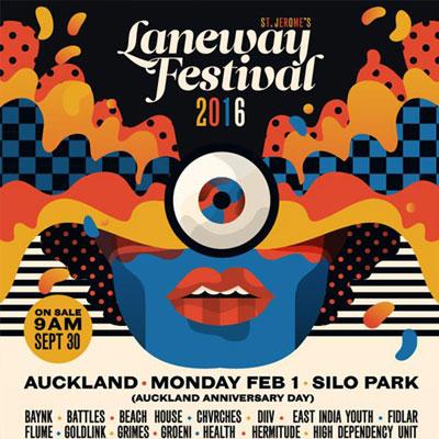 LANEWAY MUSIC FESTIVAL